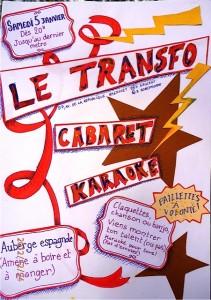 Samedi 5 janvier: Cabaret-Karaoke au Transfo