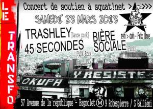Samedi 23 mars: Concert de soutien à Squat.net