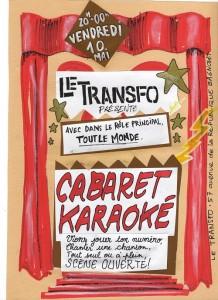 Vendredi 10 mai: Cabaret Karaoké