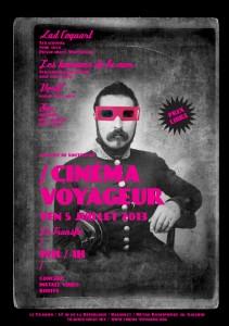 """Vendredi 5 juillet: Concert de soutien au """"Cinéma voyageur"""""""