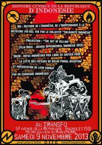 Samedi 9 novembre: Histoire cynique de la république d'Indonésie
