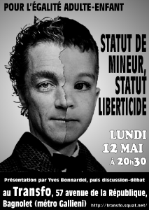 Lundi 12 mai 2014: Discussion-débat sur la domination adulte