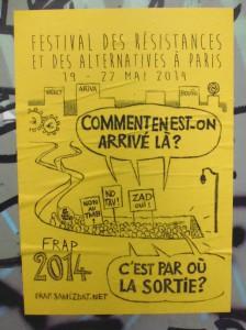 """Dimanche 25 mai 2014: Journée """"C'est par où la sortie ?"""" (FRAP)"""