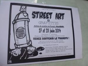 Vendredi 27 & samedi 28 juin 2014: Street art et graffitis