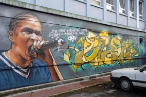 Quelques fresques aux murs (2013-2014)