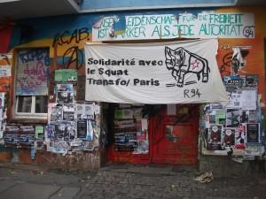 Solidarité avec le Transfo expulsé (Berlin, Sydney et Valencia)